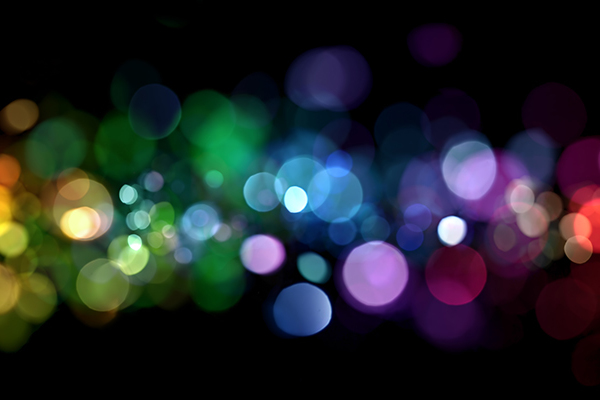 Blurred coloured lights 800x400