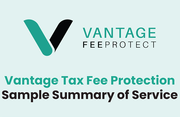 Tax Fee Protection Summary of Service
