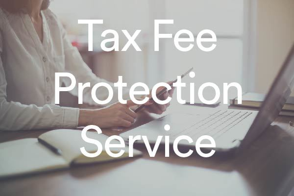 Tax fee protection woman laptop 01