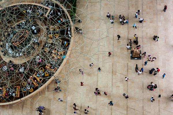 Aerial shot of people 600x400 rgb